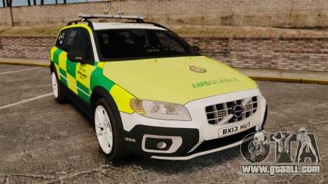 Volvo XC70 Paramedic [ELS] for GTA 4