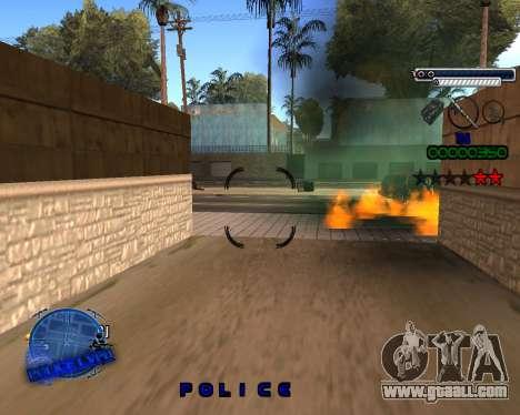 C-HUD Police LVPD for GTA San Andreas forth screenshot