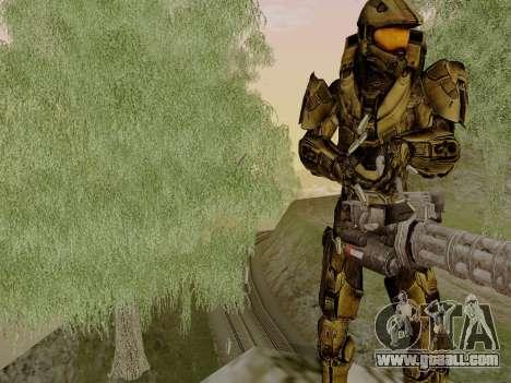 Master Chief for GTA San Andreas second screenshot