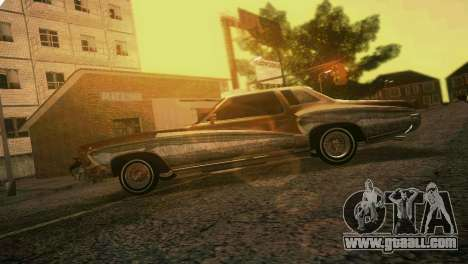 Chevy Monte Carlo Lowrider for GTA Vice City side view