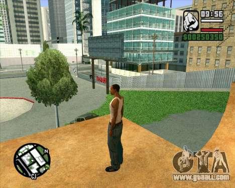 New HD Skate Park for GTA San Andreas seventh screenshot