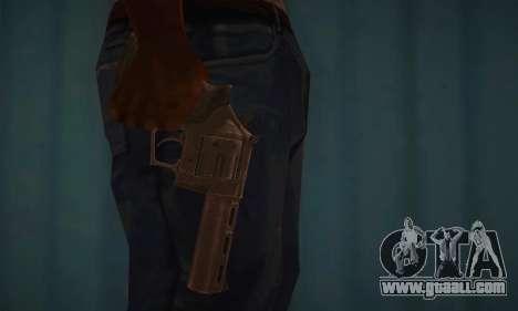 Revolver MR96 for GTA San Andreas third screenshot