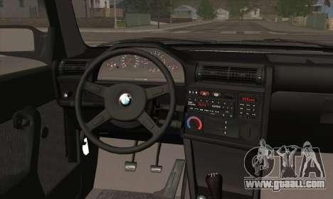 BMW M3 E30 for GTA San Andreas engine