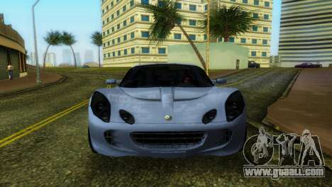 Lotus Elise for GTA Vice City left view