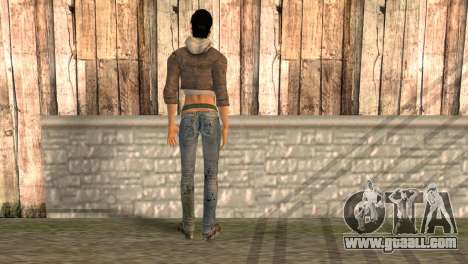 Alyx Vance from Half Life 2 for GTA San Andreas second screenshot
