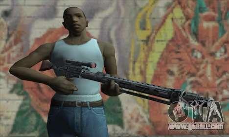 Sniper rifle from Star Wars for GTA San Andreas third screenshot