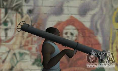 Bazooka for GTA San Andreas third screenshot