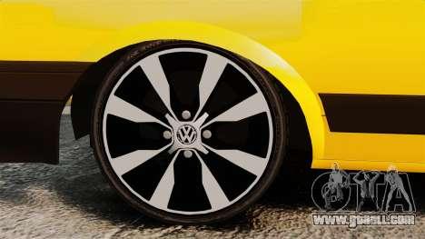 Volkswagen Voyage 1990 for GTA 4 back view