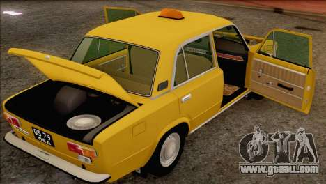 VAZ 21011 Taxi for GTA San Andreas wheels