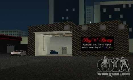 New showroom in Dorothi for GTA San Andreas