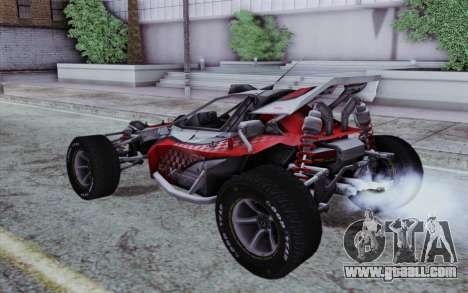 Buggy XCelerator XL for GTA San Andreas left view