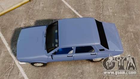 Renault 12 Toros v2.0 for GTA 4 right view
