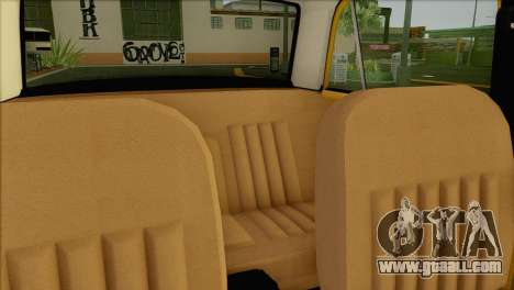 VAZ 21011 Taxi for GTA San Andreas upper view