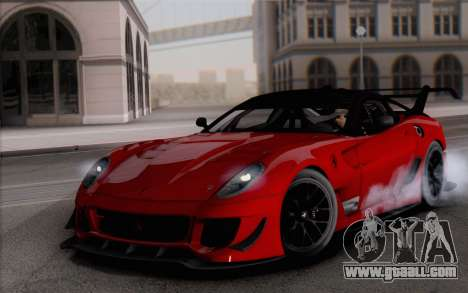 Ferrari 599XX Evolution for GTA San Andreas