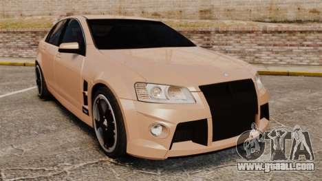 Holden HSV W427 2009 for GTA 4