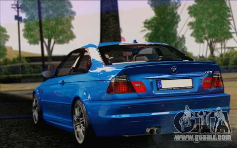 BMW M3 E46 2005 for GTA San Andreas back left view