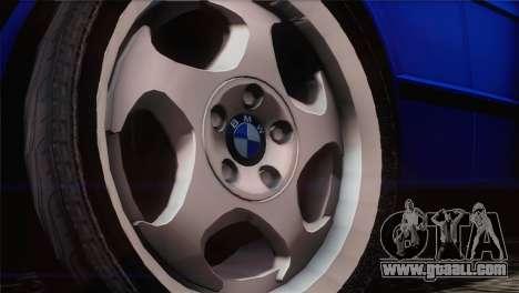 BMW 535i E34 Mafia Style for GTA San Andreas right view