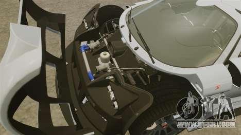 Gumpert Apollo S 2011 for GTA 4 inner view