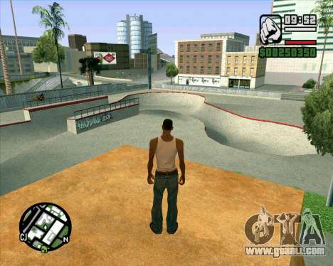 New HD Skate Park for GTA San Andreas