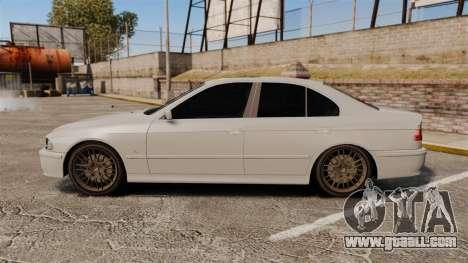 BMW 525i (E39) for GTA 4 left view