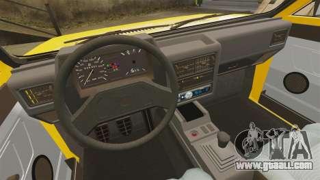 Volkswagen Voyage 1990 for GTA 4 side view