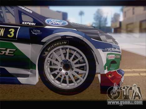 Ford Fiesta RS WRC 2013 for GTA San Andreas side view