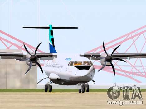 ATR 72-500 WestJet Airlines for GTA San Andreas left view