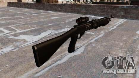 Tactical shotgun Franchi SPAS-12 for GTA 4 second screenshot