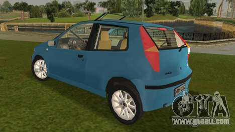 Fiat Punto II for GTA Vice City back left view