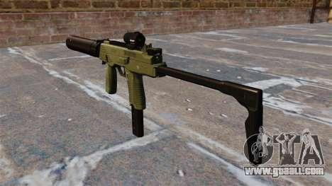 MP9 submachine gun tactical for GTA 4