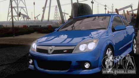 Vauxhall Astra VXR  2007 for GTA San Andreas