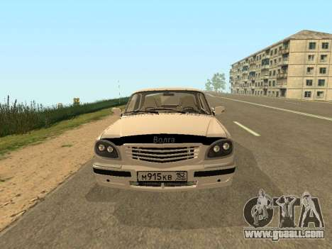 GAZ Volga 31105 for GTA San Andreas left view