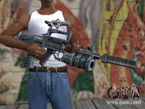 Rifle of S.T.A.L.K.E.R. for GTA San Andreas third screenshot