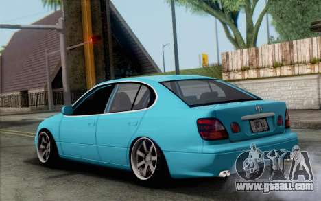 Toyota Aristo for GTA San Andreas left view