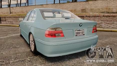 BMW 525i (E39) for GTA 4