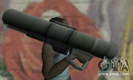 Bazooka for GTA San Andreas third screenshot