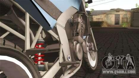 Ducati FRC900 v3 for GTA San Andreas back left view