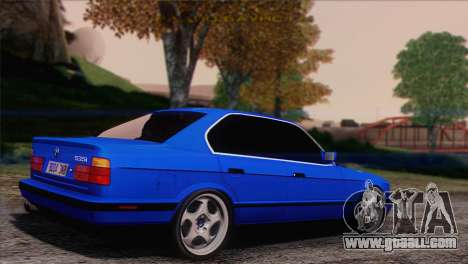 BMW 535i E34 Mafia Style for GTA San Andreas left view