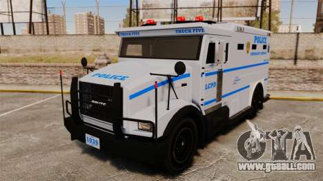 Enforcer LCPD [ELS] for GTA 4