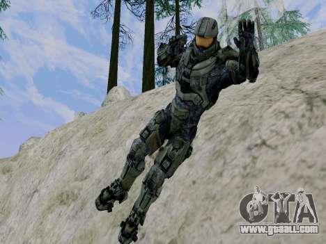 Master Chief for GTA San Andreas sixth screenshot