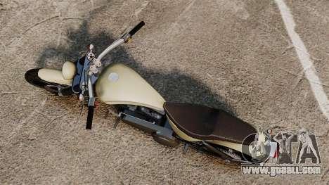 GTA IV TLAD Nightblade for GTA 4 back left view