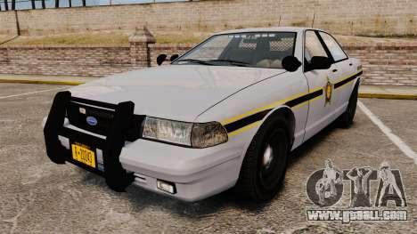 GTA V Vapid Police Cruiser Scheriff [ELS] for GTA 4
