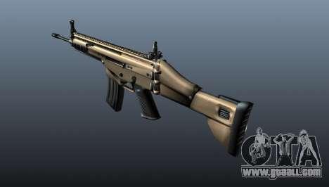 Assault Rifle SCAR-L for GTA 4 second screenshot