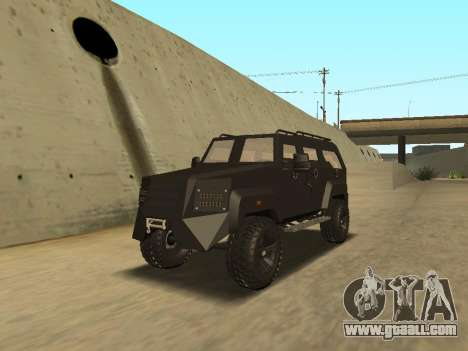 Ford Super Duty Armored for GTA San Andreas