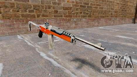 Self-loading rifle Ruger Mini-14 for GTA 4