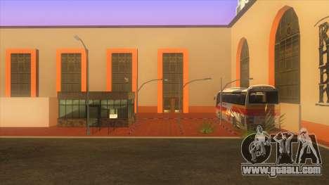Bus station, Los Santos for GTA San Andreas second screenshot