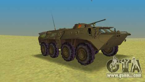 BTR-80 for GTA Vice City right view