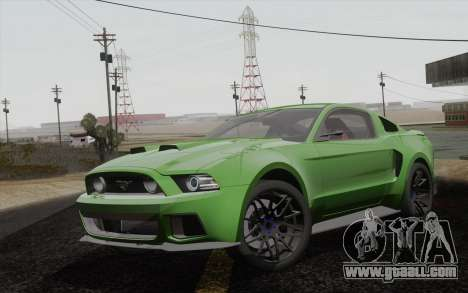 Ford Mustang GT 2013 for GTA San Andreas