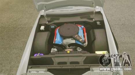 Cadillac Eldorado Coupe 1969 for GTA 4 inner view