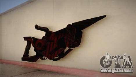Flamethrower from Bulletstorm for GTA San Andreas